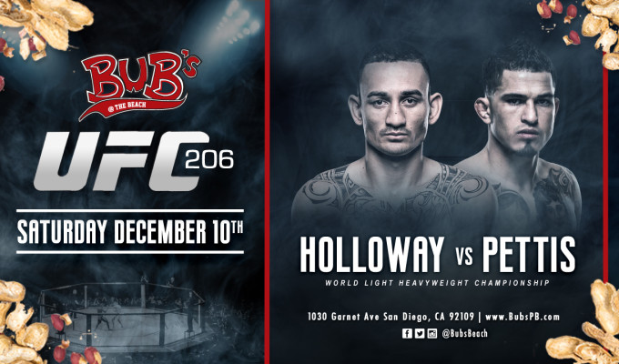 UFC 206: Holloway vs. Pettis -...
